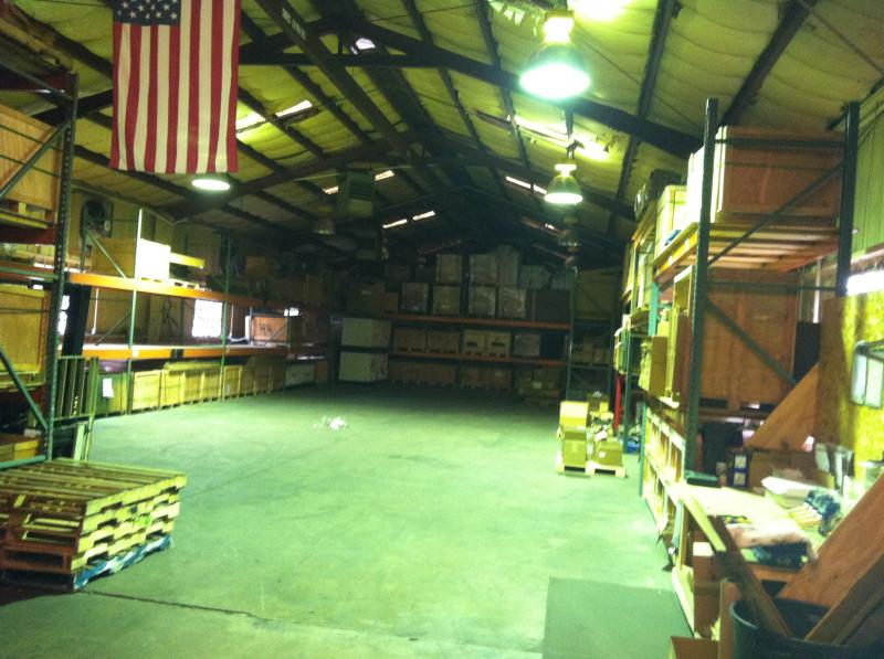 warehouse stock